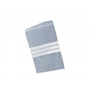 Write-On panel Grip Seal Bags