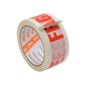 Printed Message Packing Tape