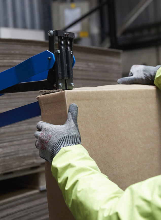 Packaging for manufacturing and distribution sectors.