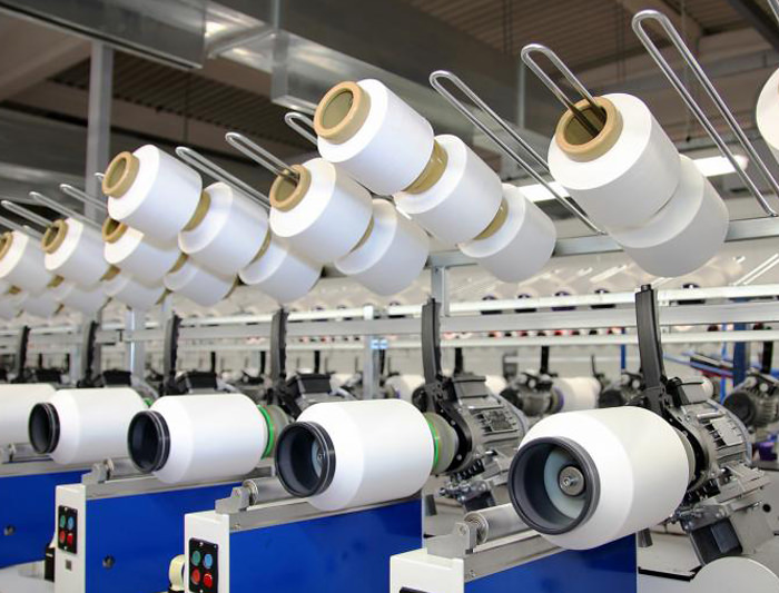 Textiles packaging for manufacturers in the UK