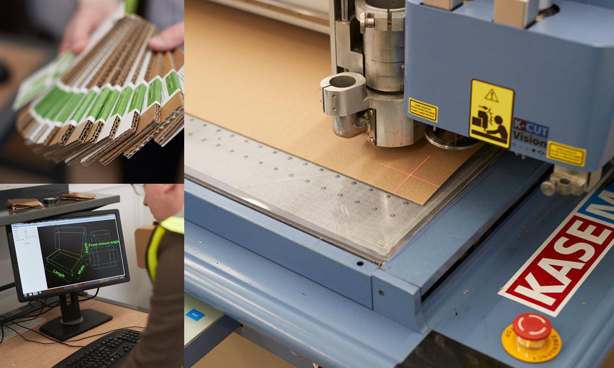 Customised Corrugated Timber